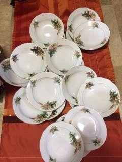 19 pcs of Plates