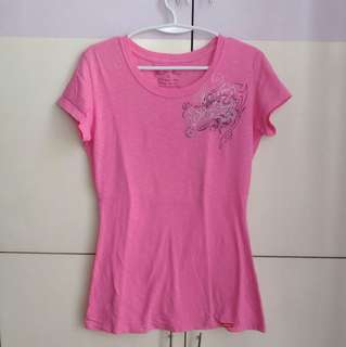 DICKIES Pink Graphic T-shirt