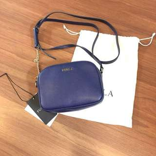 Furla mini crossbody bag Navy