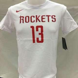 Harden shirts rockets