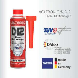 VOLTRONIC D12 High Performance Diesel  System and Exhaust system Cleaner. [ Diesel Smoke Stop ]