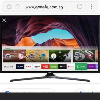 "40"" Samsung Full HD Smart LED TV For Sale"