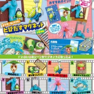 玩具總動員盒玩 - 毛怪與大眼仔 (5號)