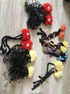 Hair wig with clip