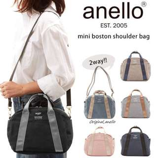 FREE DELIVERY ✅ Model :   AT-C1835 . Authentic Anello PolyesterCanvas Sling