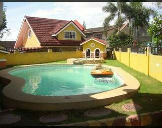 House & Lot with swimming pool in San Pedro Laguna
