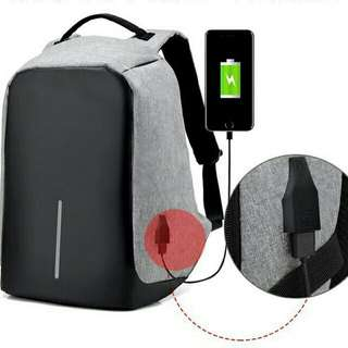 (BEST SELLER) Anti Theft bag with USB connector