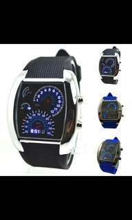 Speedometer LED Watch
