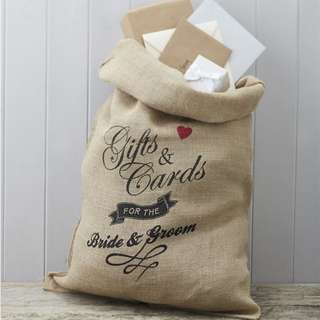 Brand New Wedding Gift Sack *Price reduced!*