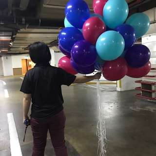 [March promo] Helium balloons!