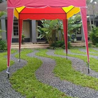 tenda cafe/tenda bazar bisa di bongkar pasang,minat via whatsap 089510071235.