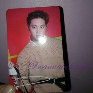 Got7 Jaebum Arrival Photocard