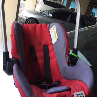 SCR7 Baby Car Seat