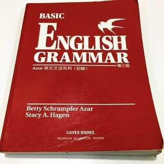 🚚 Basic English Grammar#出清課本