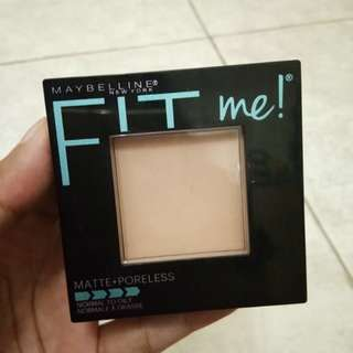 Fit me Pressed Powder Matte Poreless- Natural Beige