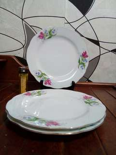 Set Piring Kuih Chinese Rose