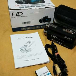 Andoer HDV-312P 1080P Full HD Digital Videocam