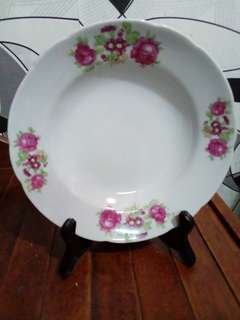 Two Red Roses Plate