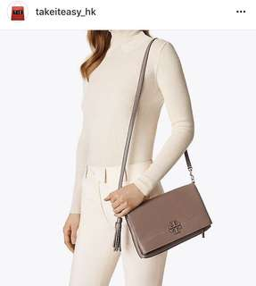 Tory Burch Mcgraw Fold-over  Cross Body