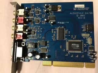 M-Audio Audiophile 2496 Sound card