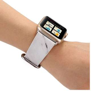 -instock marble- apple iwatch strap by JANSIN