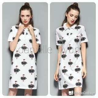 🐊Swan Dance Girl polo dress