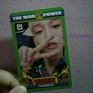 Exo Chen Power Photocard