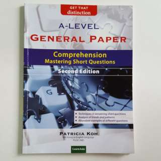 A Level General Paper Comprehension