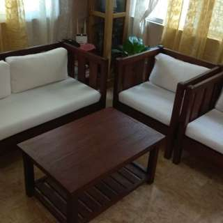 Wooden Sofa Sala Set
