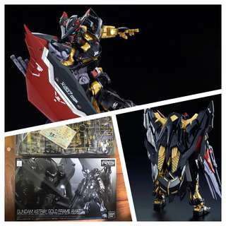 Astray gold frame amatsu pbandai version gundam rg