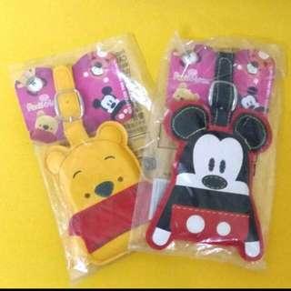 米奇Mickey & 小熊维尼 Winnie the Pooh 行李牌