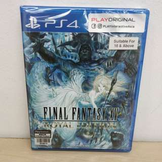 (Brand New) PS4 Final Fantasy XV Royal Edition / R3