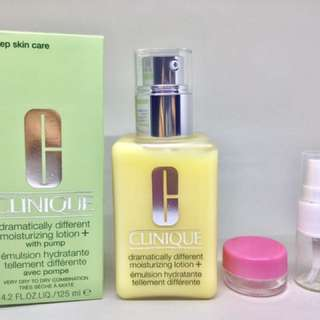 Clinique Dramatically Different Moisturizing lotion share in jar