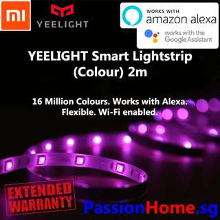 Yeelight wifi LED Smart Light Strip Colour 2m (Passion Home)