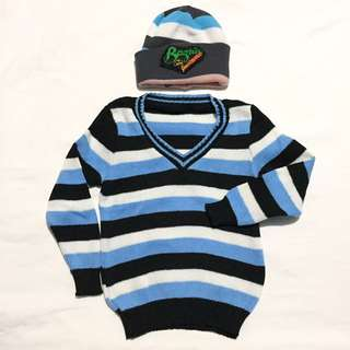 Baby Longsleeve with bonet from Baguio