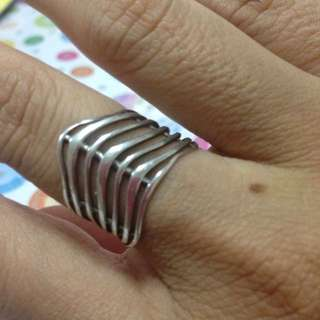 Authentic vintage Silver ring
