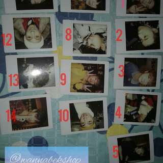 iKon Kony Winter Time Instax Fuji Film Photocard