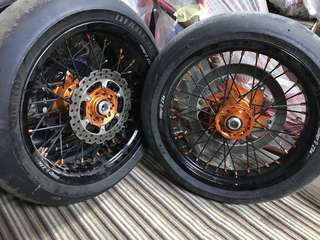 Warp 9 elite supermoto wheels