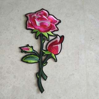 Iron On Patch - Flower #1