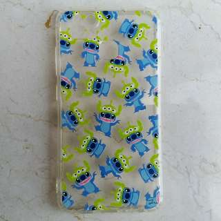 華碩 Asus Zenfone 3 Zoom 手機電話殼 (Stitch x 3眼仔) **有手機繩位**