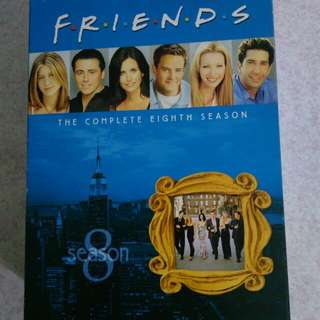 FRIENDS SEASON 8 DVD