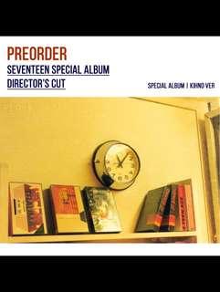 SEVENTEEN - SPECIAL ALBUM DIRECTOR'S CUT (PLOT/SUNSET VERSIONS)
