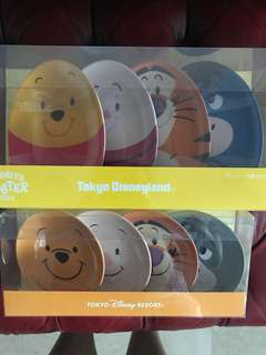 Disney Pooh and friends plates