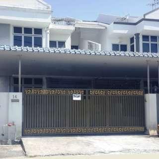 [WTR] Bercham 2 Storey Terrace House