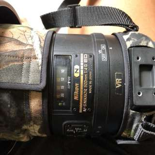 Nikon AF-S 500mm f4G VR