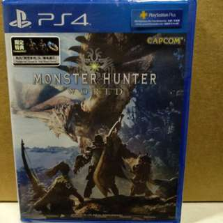 Ps4 Monster Hunter World R3 with DLC