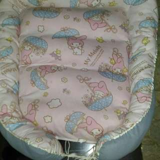 preloved baby co-sleeper. can change cover