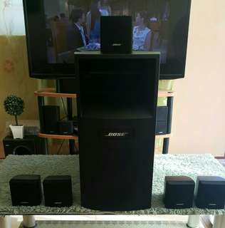 Bose Acoustimass 6 Cubes Speakers