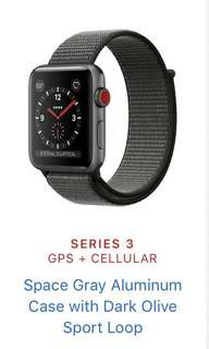 Apple Watch series 3 gps cellular 42mm