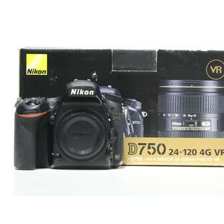 Nikon D750 DSLR Body Only (SC: 75K+)